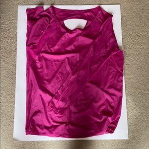 Lululemon If You're Lucky Long Sleeve Ras. Pink 8